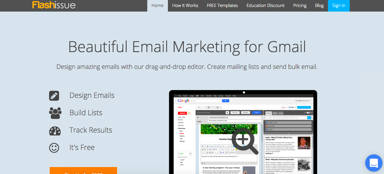 Email Marketing Inside Of Gmail Organize Chaos - Free email marketing templates for gmail